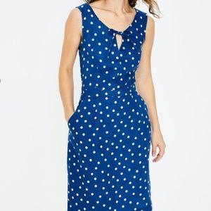NWOT Boden  Rae Linen Dress